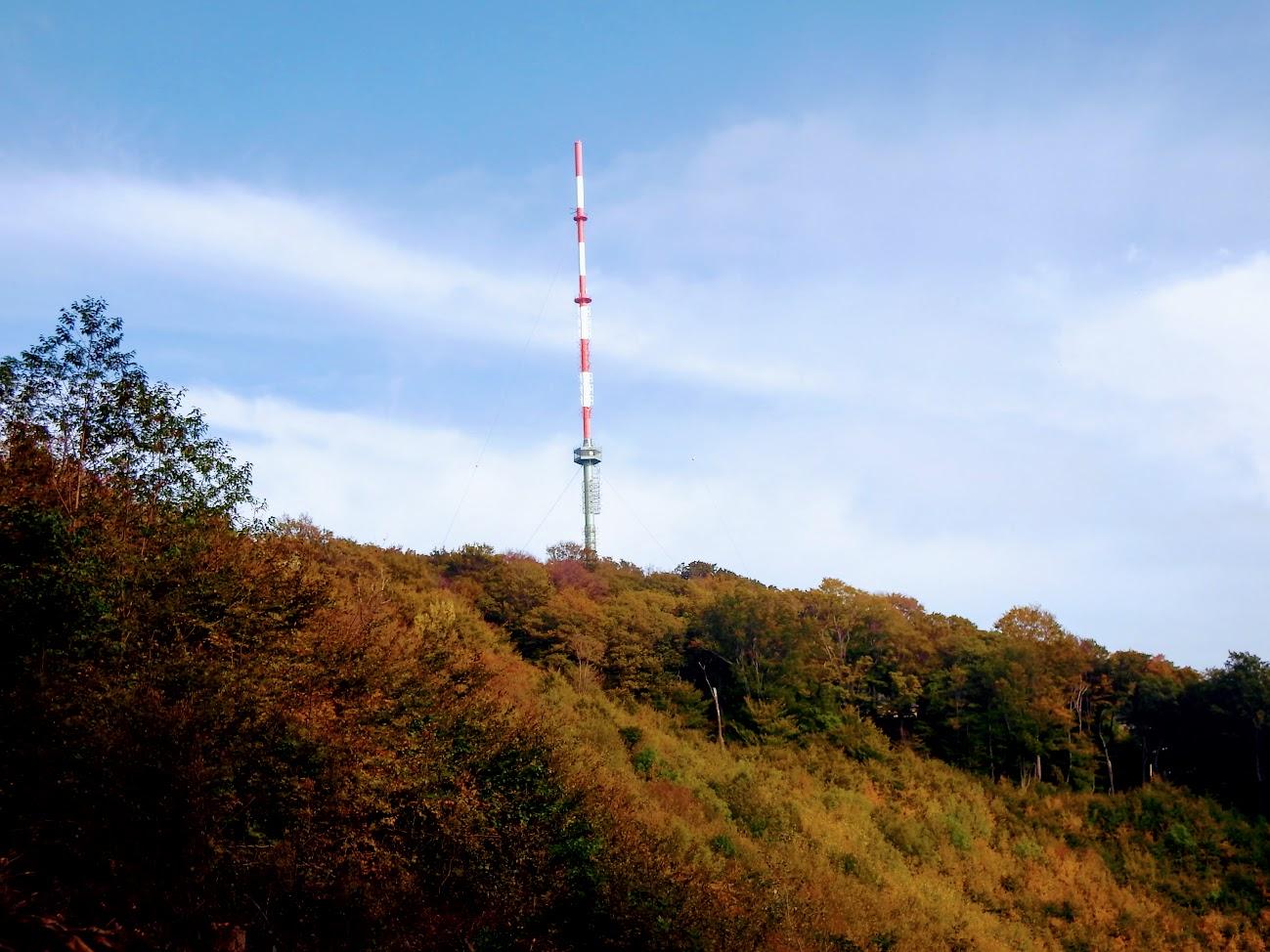 Wien 1/Kahlenberg - TV-URH gerincadó állomás