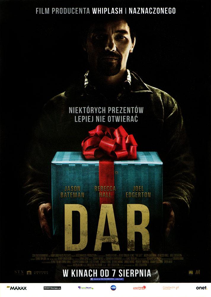 Ulotka filmu 'Dar (przód)'