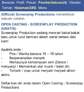 open casting ph screenplay production