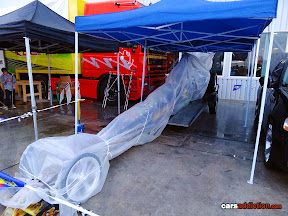 Dragster covered