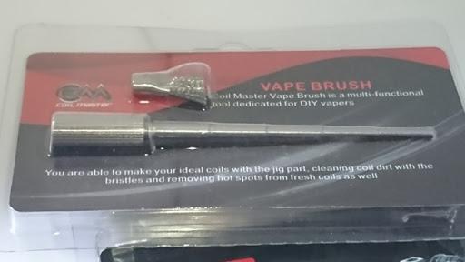 DSC 2464 thumb%25255B2%25255D - 【小物/ビルド】「Coilmaster Vape Brush(コイルマスター ブラシ付きコイルジグ)」レビュー。ドライバーン時のガンク除去+コイルジグの便利優れものビルド小道具!