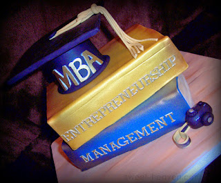 MBA Graduation Books, Graduation Hat,