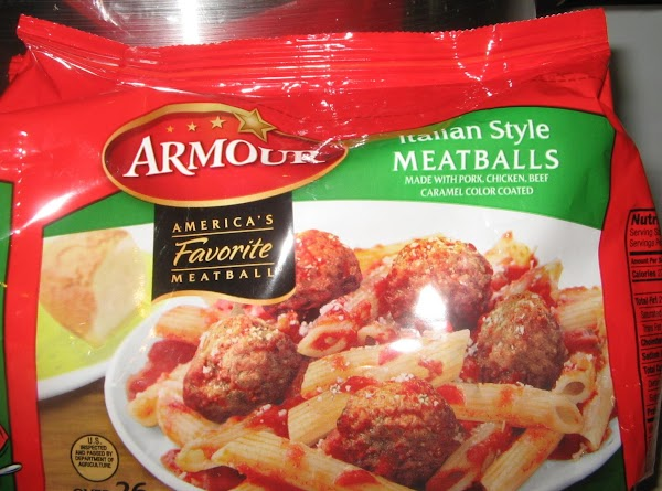 I used these meatballs.