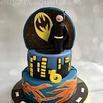Double sided princess and superheroes cake 1.jpg