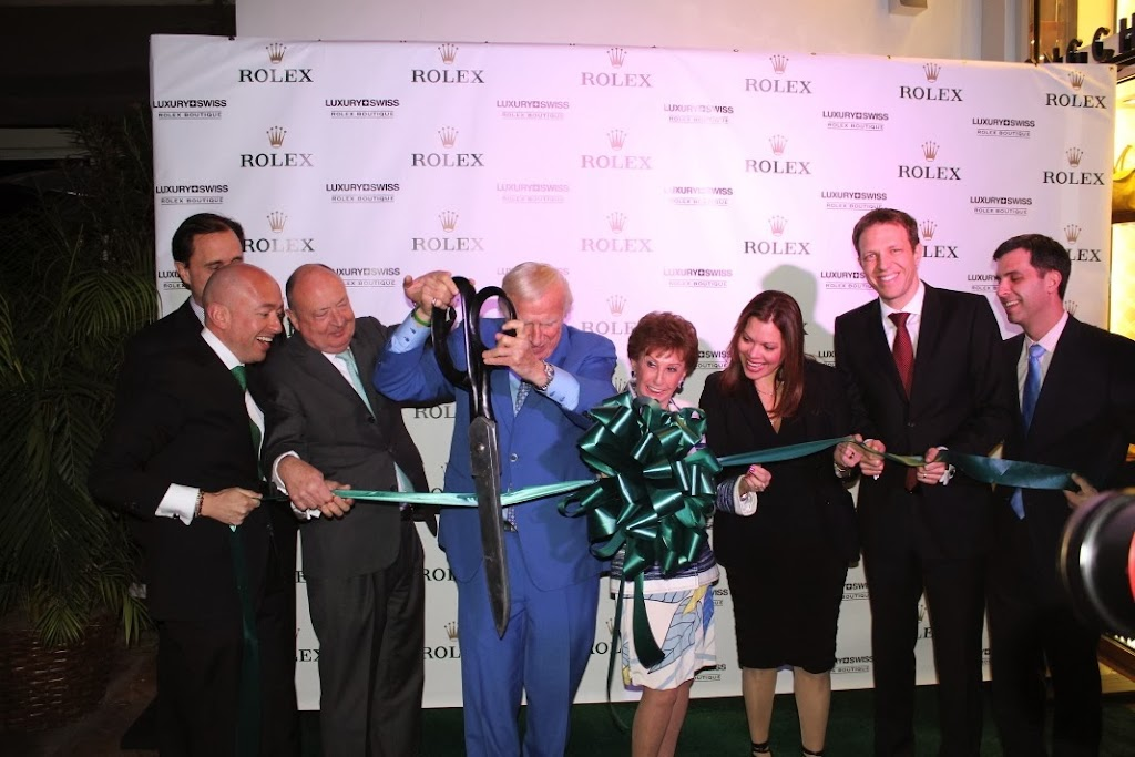 Rolex Miami Boutique Luxury Swiss LLC Ribbon Cutting 8