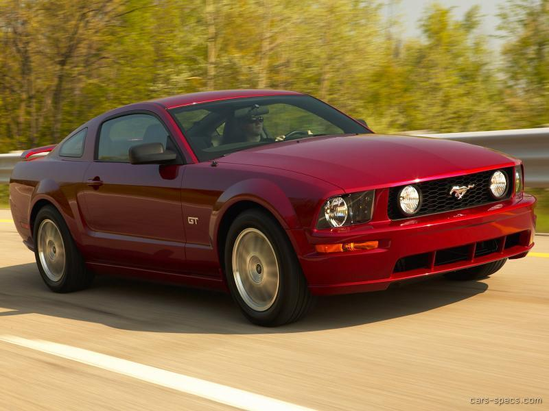 2009 ford mustang coupe specifications pictures prices. Black Bedroom Furniture Sets. Home Design Ideas