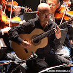 Actuaron intérpretes de lujo: Orquesta de Valencia, Pacoseco (guitarra flamenca) y Ricardo Casero (director).