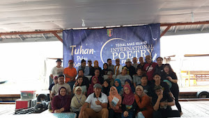 Isbedy Tutup Tegal Mas Island Internatonal Poetry Festival