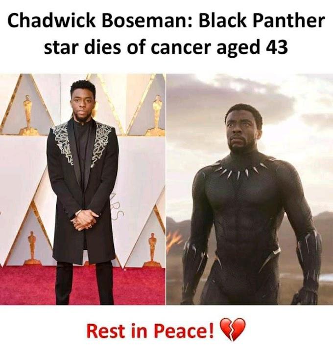 Black Panther chadwick Boseman meninggal dunia