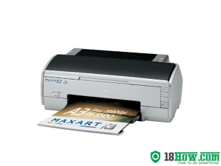 How to reset flashing lights for Epson PX-5500 printer