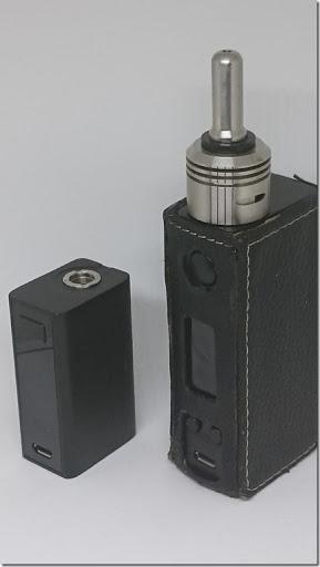 DSC 3866 thumb%25255B1%25255D - 【MOD】「Joyetech eVic Basic 40W」レビュー。超小型BOX MODでコンパクティ!【初心者/女性向け】