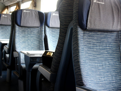 Train from Bologna to Ravenna in Emilia-Romagna Italy