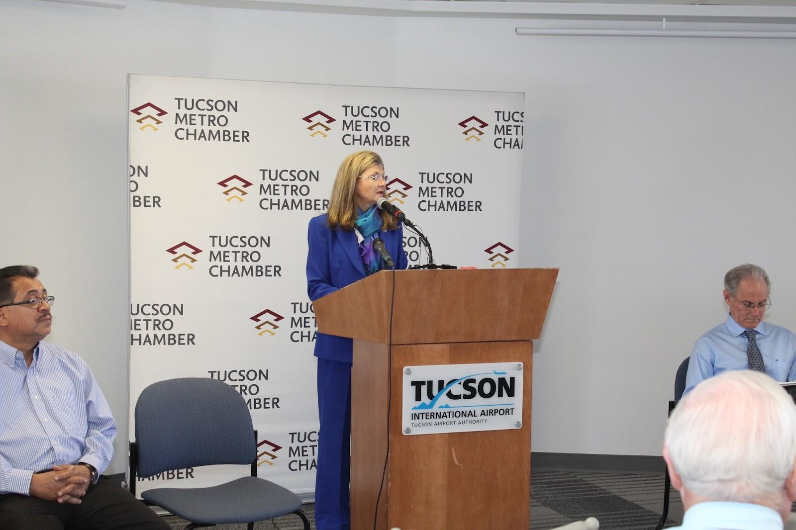 Tucson - JFK Non-Stop Route Announcement - IMG_3153.JPG