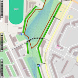 План дорожек, смотровых площадок, входов в Сад и тропинок
