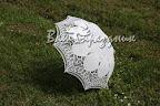 Эксклюзивный гипюровый зонтик из Бельгии. Белый, айвори