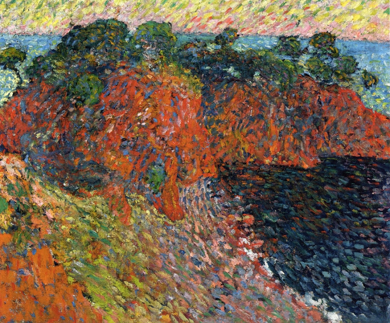 Louis Valtat - Pines by the Sea, Antheor