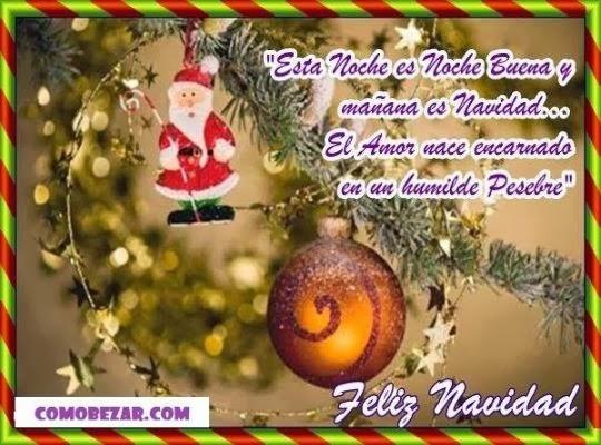 Genuinos saludos para desear una feliz navidad