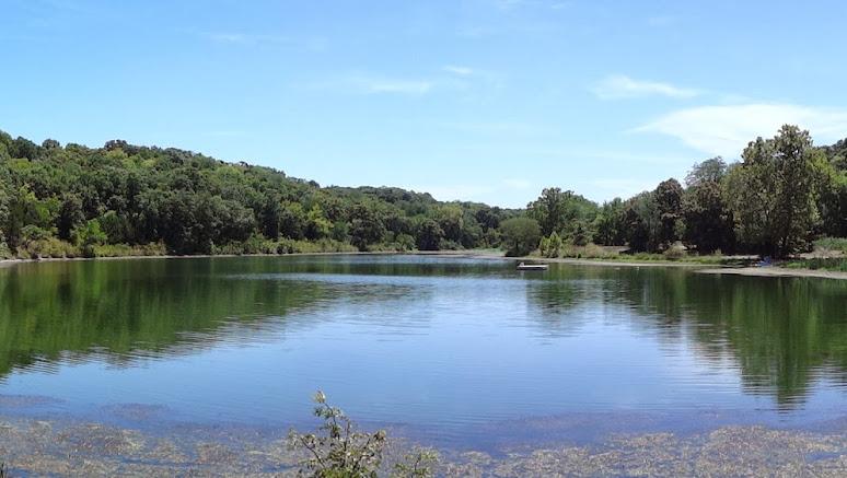 Lake Onessa, at Gaea Retreat Center. (credit: Gaea Retreat Center's google+ page)