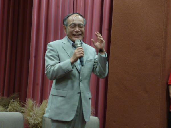 台日文學交流-藤井本人則是一直期待透過這樣的交流,讓台灣及日本作家能共創更具普遍性的世界文學新境界(劉黎兒攝影).JPG