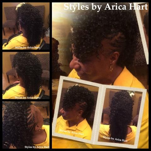 Mohawk, hair blog, haie styles, hair image