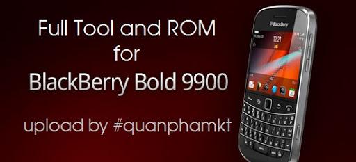 Full tool và rom của Blackberry Bold 9900 | Tinhte vn