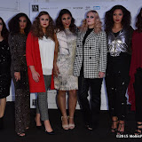 OIC - ENTSIMAGES.COM - Model(s) - Kelly in So Fab at very, Sinead in boohoo, Mollie in studio eight, Elia in ophee, Poppy in curvissa, Aida in elvi and Zara in Evans at the   UK Plus Size Fashion Week  Day 1 Press at 8 Northumberland Avenue London where by 14 professional plus size models (sized UK 14 - 24) will be dressed by leading designers and retailers from the plus size fashion industry to mark the launch of UK plus size fashion week 2015 London 11th September 2015 Photo Mobis Photos/OIC 0203 174 1069