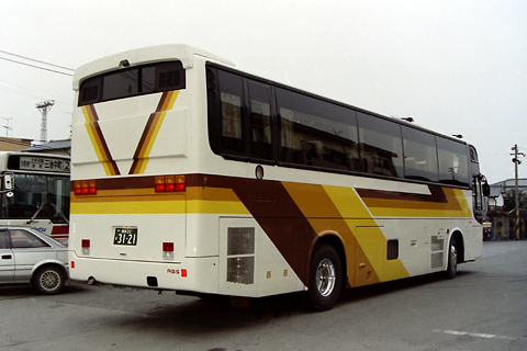 西日本鉄道「ちくご号」 3176 リア