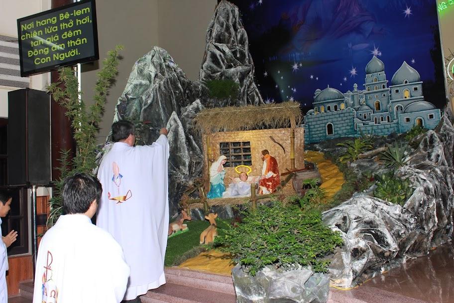 Lễ  Giáng Sinh 2015 tại Giáo xứ Chợ Mới