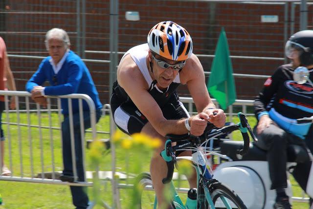 1/8e triatlon in Roeselare: fietsen