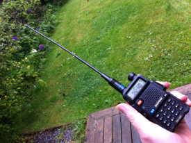 Listening For The So 50 Satellite With The Uv 5r And The Nagoya Na 771 Antenna Amateurradio Com