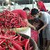Harga Cabai Merah di Pasar Induk Jagasatru Cenderung Turun