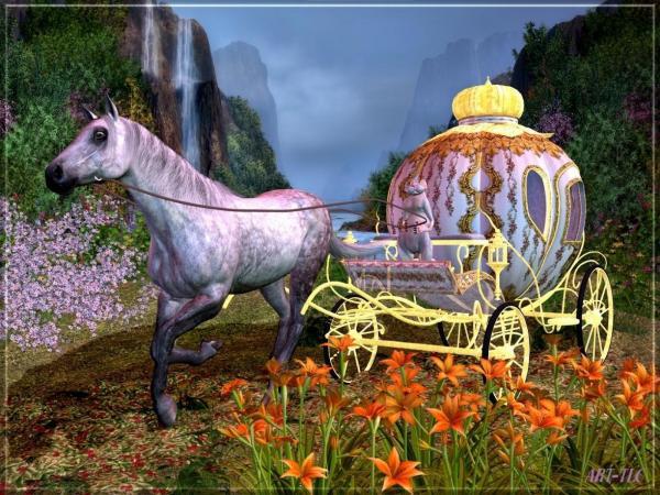 Cinderella S Carriage, Magical Landscapes 2