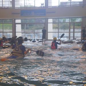 Kayak polo à Villeurbanne