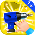 Baby Puzzles. Building Tools icon