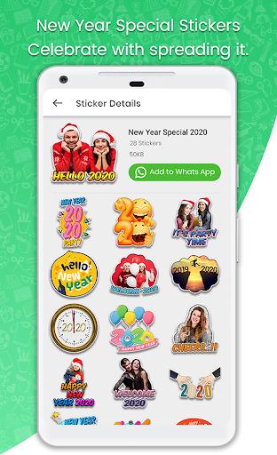 Stickers For WhatsApp - STICKER MAKER 71 screenshots 2