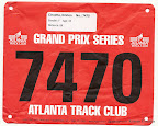 My race bib for Spring has Sprung 8K
