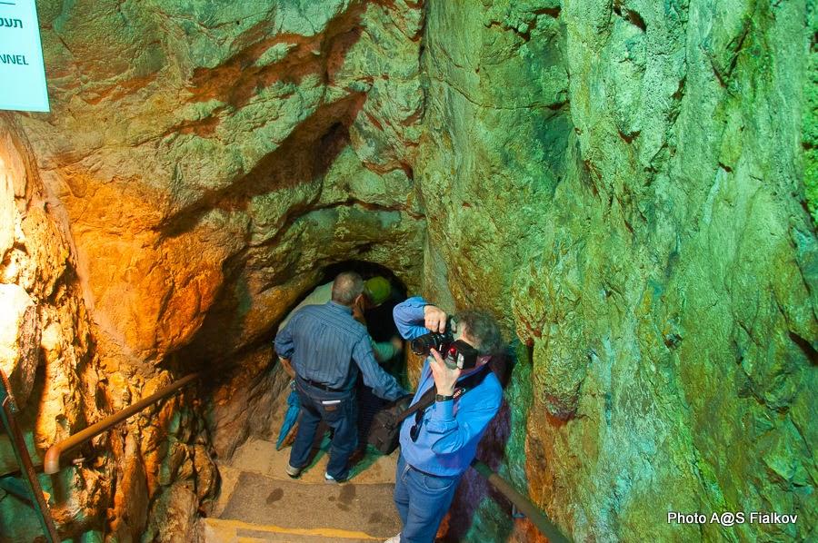 Ханаанский туннель в городе Давида. Экскурсия в городе Давида Светланы Фиалковой.
