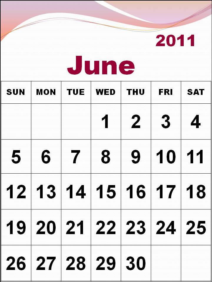june 2011 calendar page. wallpaper june 2011 calendar