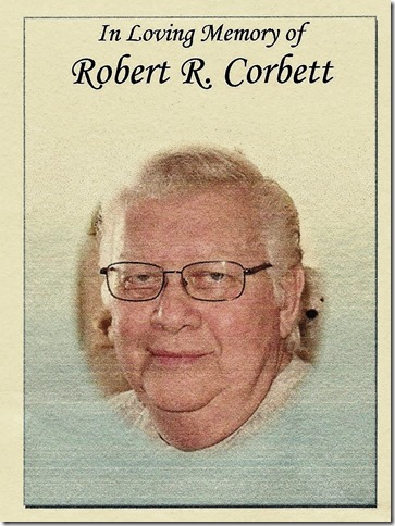 CORBETT_Robert R_front of funeral card_enh