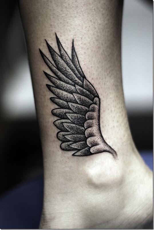 attachant de la cheville conceptions de tatouage - idées et photos