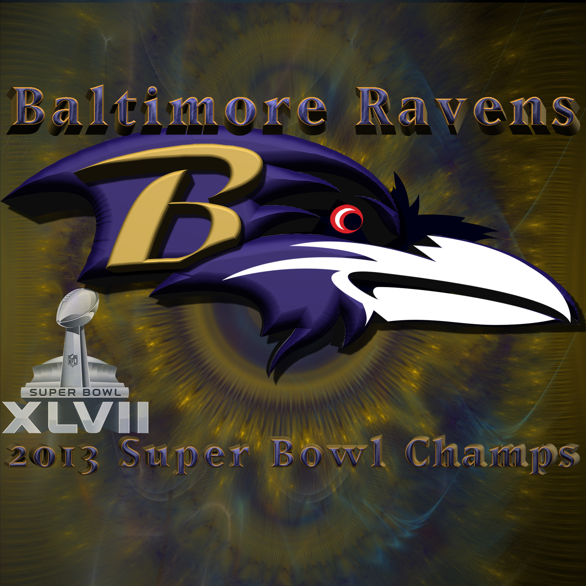 Baltimore Wallpaper: Wallpapers By Wicked Shadows