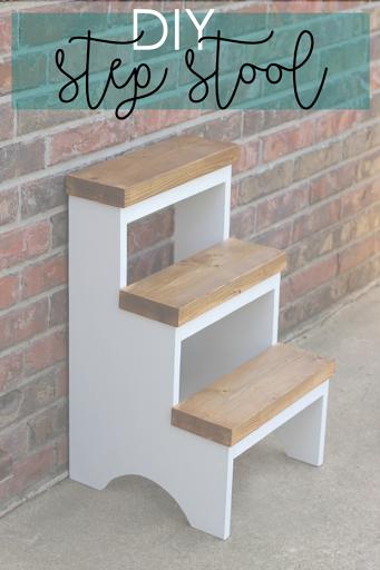 life-storage-blog-kitchen-step-stool-pinterest & Ginger Snap Crafts: DIY Step Stool