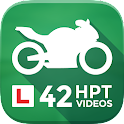 Motorcycle Theory Test +Hazard icon