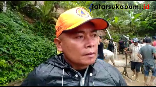Kepala Desa Bunisari Kecamatan Cikidang Kabupaten Sukabumi Jawa Barat, Solihudin/ Foto : Isep Panji