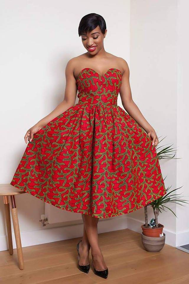 Stylish & Trendy African Dresses For 2017 / 2018