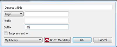 Menambahkan kutipan Mendeley di ms word