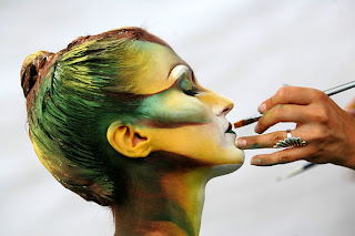2008 World Body Painting Festival in South Korea Pictures