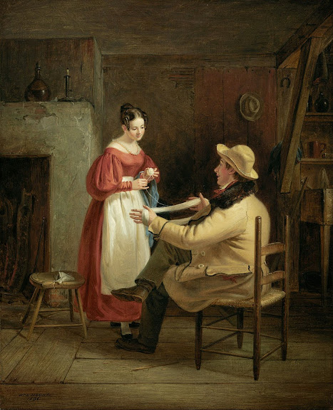William Sidney Mount - Winding Up - Google Art Project