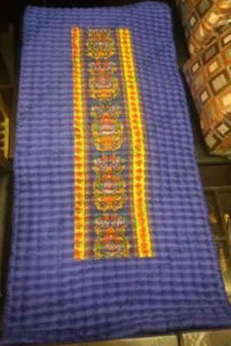 kasur palembang dari limbah kain majun / percah