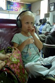 Wachten op de luchthaven